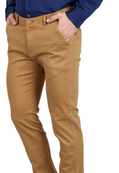 Slim Fit Men's Trousers - <small>C-3256_2</small>