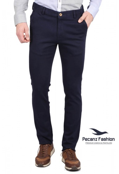 Slim Fit Men's Trousers - <small>C-3256_5</small>