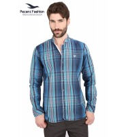 Slim Fit Checks Shirt