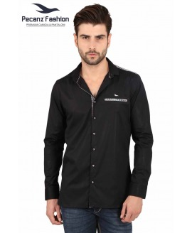 Slim Fit Solid Shirt