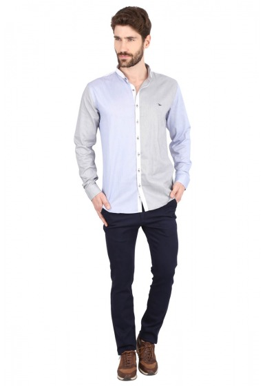 Slim Fit Designer Shirt - <small>S_7978_1</small>