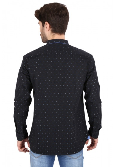 Slim Fit Printed Shirt - <small>S_8023_1</small>
